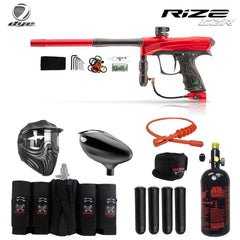 Dye Rize CZR Maddog Elite HPA Paintball Gun Package - red