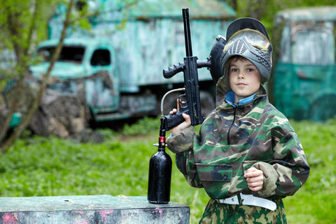 Are children any good at paintball?