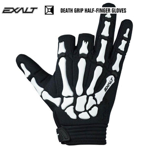 Exalt Death Grip Half-Finger Tactical Paintball Gloves