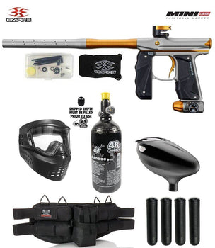 Empire Mini GS Starter HPA Paintball Gun Package - PaintballDeals.com