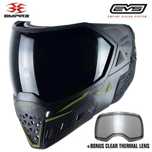Empire EVS Thermal Paintball Mask - Black / Olive