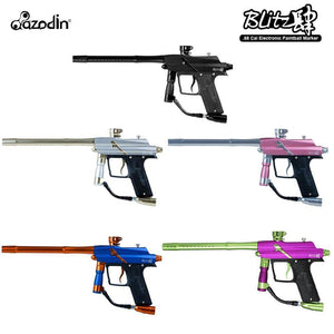 Azodin Blitz 4 Electronic .68 Caliber Paintball Gun