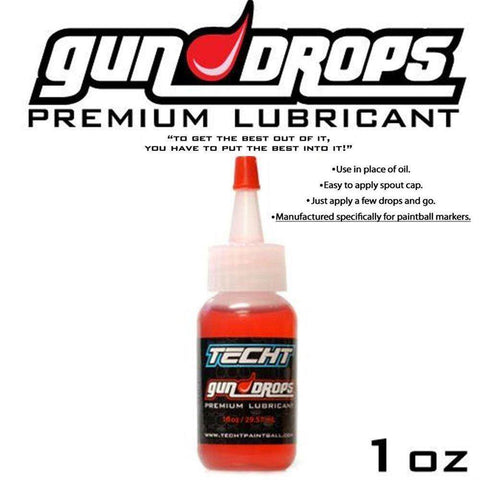 TechT Gun Drops Oil - 1 OZ