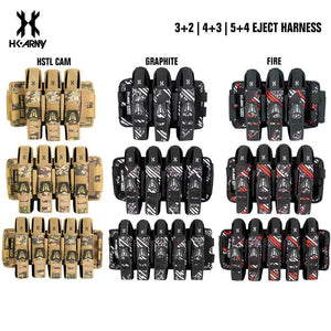 HK Army 3+2 | 4+3 | 5+4 Eject Paintball Harness Pod Pack - PaintballDeals.com