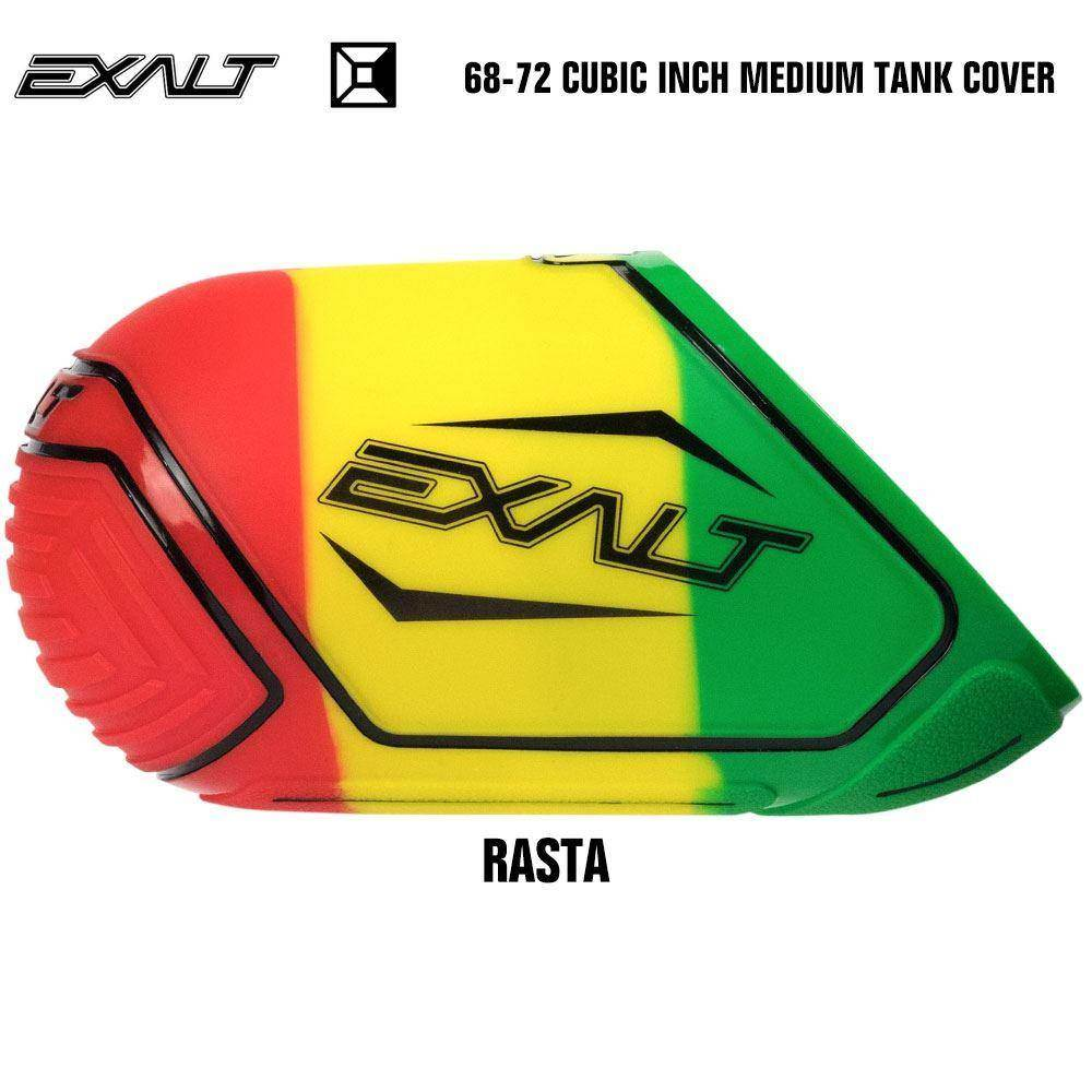 Exalt 68-72 Cubic Inch Compressed Air HPA Paintball Tank Cover - Rasta