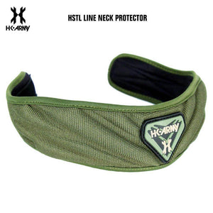 HK Army HSTL Line Padded Neck Protector - One Size Fits All - Olive - PaintballDeals.com