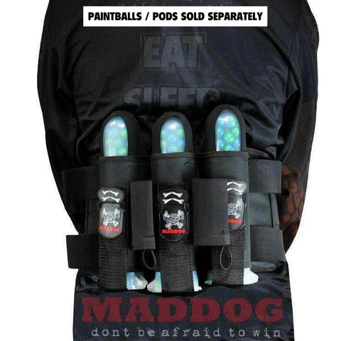 Maddog Pro Paintball Harness Pod Vertical Holder Belt 3+2 4+3 5+11