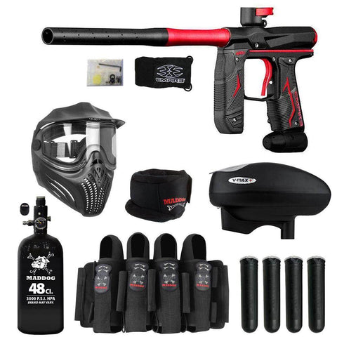 Maddog Empire Axe 2.0 Tournament Elite HPA V-Max+ Paintball Gun Package
