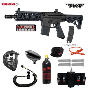 Tippmann TMC MAGFED  Elite Remote CO2 Paintball Gun Package