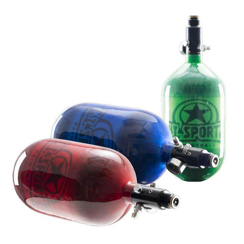 GI Sportz 68/4500 High Pressure Carbon Fiber Compressed Air Tank