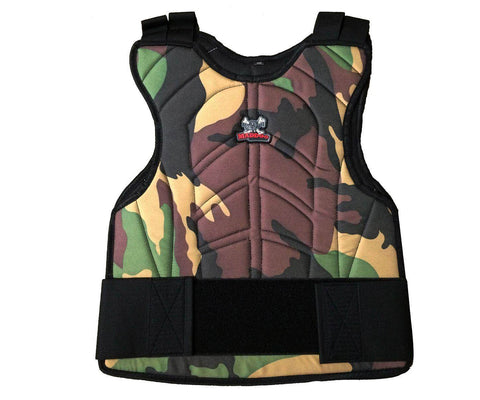 CLEARANCE - Maddog Padded Paintball & Airsoft Chest Protector- OPEN BOX
