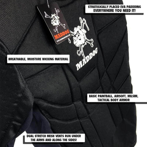 Maddog Sports Pro Padded Chest Protector