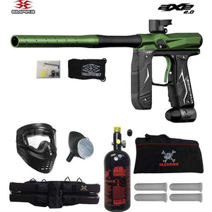 Empire Axe 2.0 Beginner HPA Paintball Gun Package B