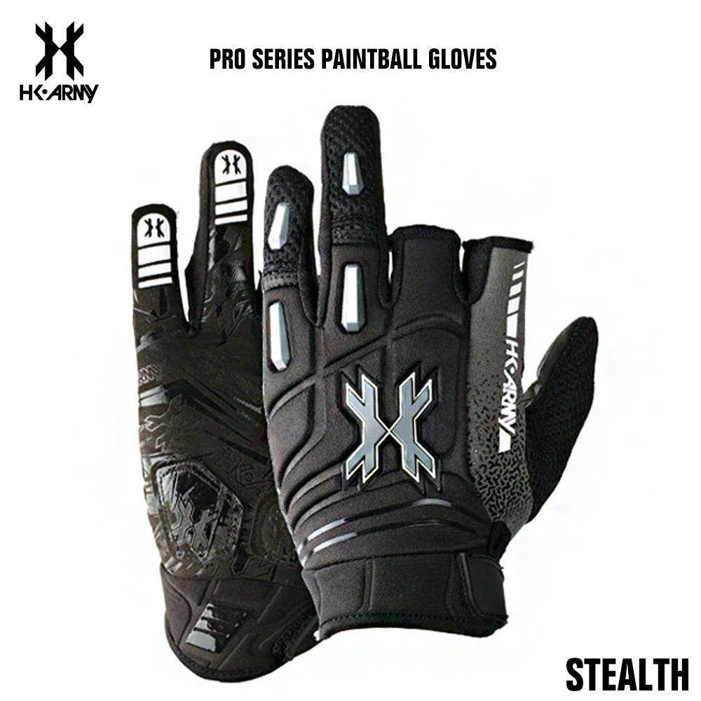 HK Army Pro Paintball Gloves - Stealth - PaintballDeals.com