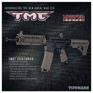 Tippmann TMC MAGFED Expert Paintball Gun Package