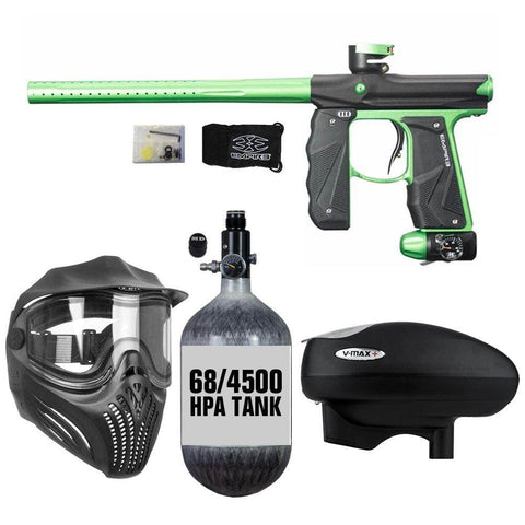 Maddog Empire Mini GS 68/4500 HPA V-Max+ Paintball Gun Package