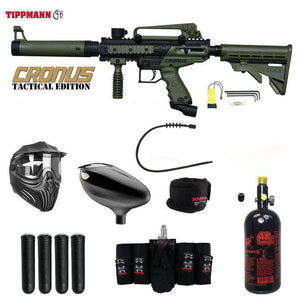 Tippmann Cronus Tactical Maddog Elite HPA Paintball Gun Package