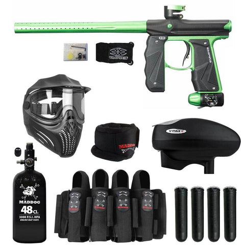 Maddog Empire Mini GS Elite HPA V-Max+ Paintball Gun Package