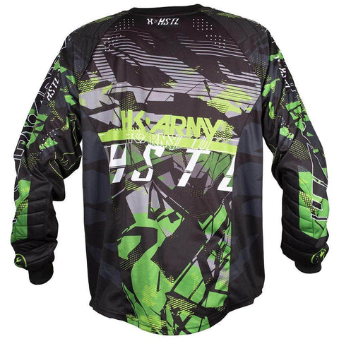 HK Army HSTL Line Padded Paintball Jersey - Slime