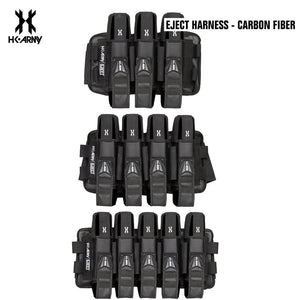 HK Army 3+2 | 4+3 | 5+4 Eject Paintball Harness Pod Pack - Carbon Fiber - PaintballDeals.com