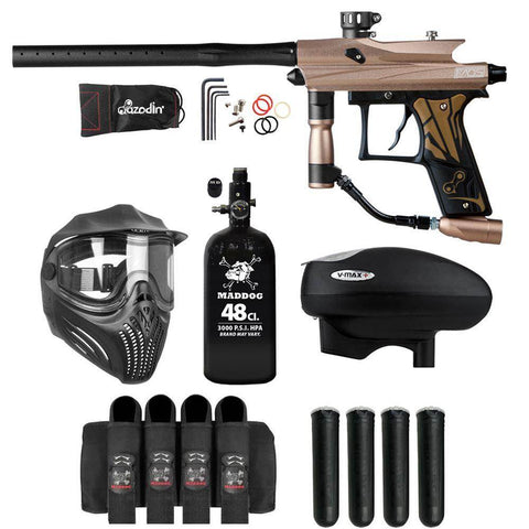 Maddog Azodin Kaos 3 Advanced HPA V-Max+ Paintball Gun Package