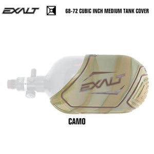 Exalt 68-72 Cubic Inch Compressed Air HPA Paintball Tank Cover - Camo - PaintballDeals.com