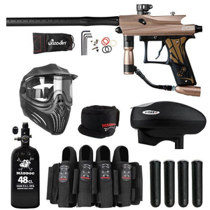 Maddog Azodin Kaos 3 Elite HPA V-Max+ Paintball Gun Package