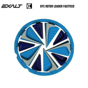 Exalt Dye Rotor LT-R Paintball Hopper Loader FastFeed - Blue - PaintballDeals.com