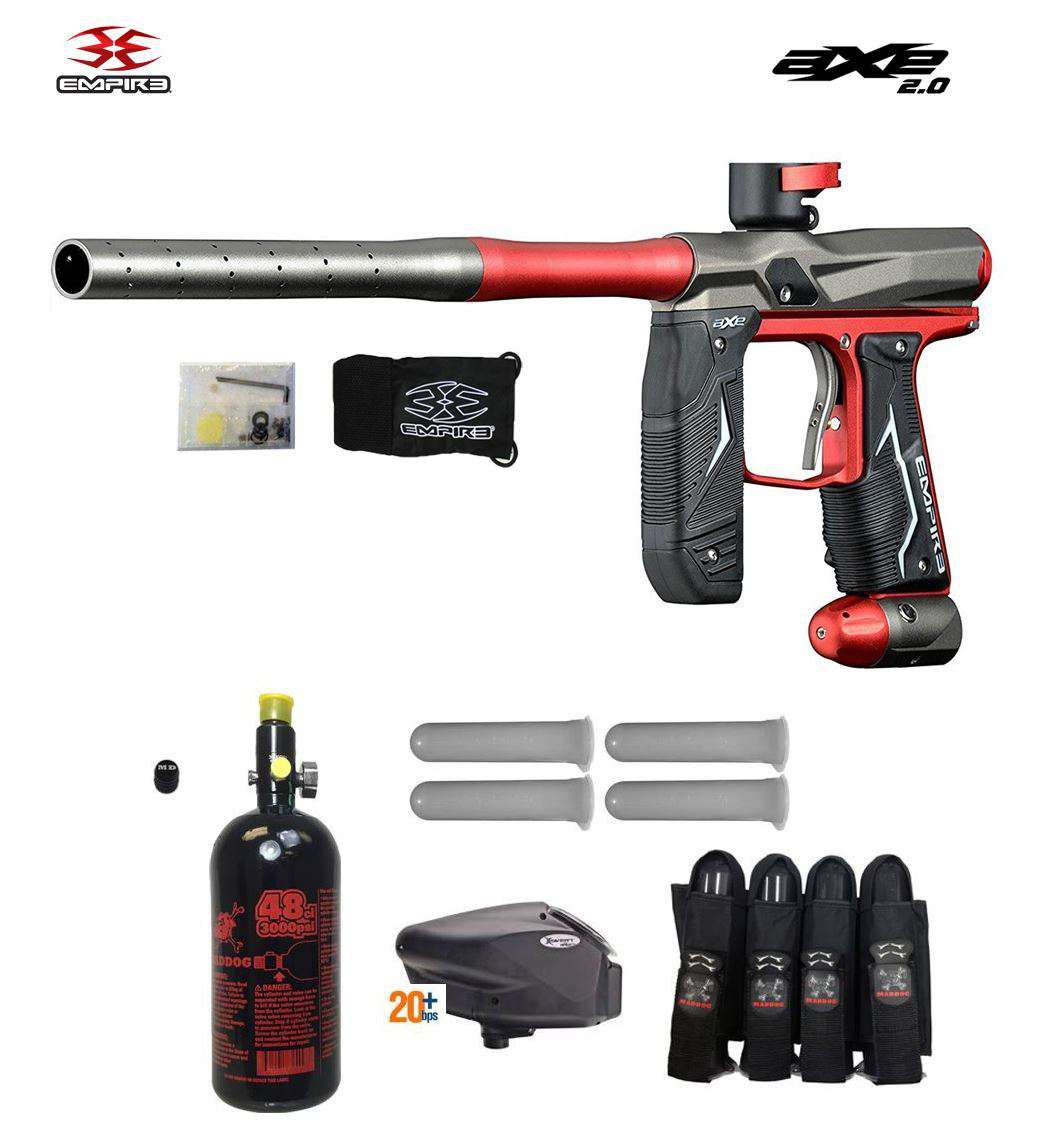 Empire Axe 2.0 Advanced Paintball Gun Package