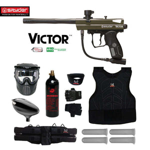 Spyder Victor Starter Protective CO2 Paintball Gun Package