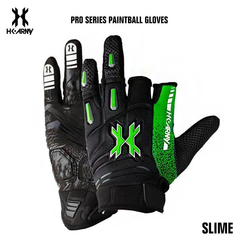 HK Army Pro Paintball Gloves - Slime - PaintballDeals.com