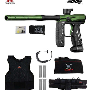 Empire Axe 2.0 Sergeant Paintball Gun Package