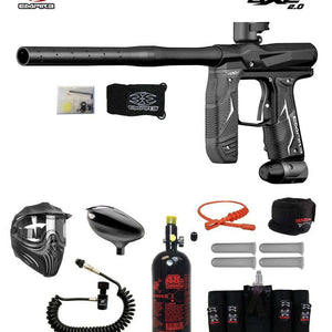 Empire Axe 2.0 Maddog Elite Remote HPA Paintball Gun Package