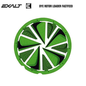 Exalt Dye Rotor LT-R Paintball Hopper Loader FastFeed - Lime - PaintballDeals.com