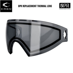 Carbon Operator OPR Paintball Goggles Mask Replacement Thermal Lens