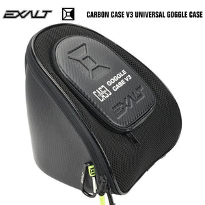 Exalt Carbon Universal Paintball Goggle Mask Microfiber Travel Case V3 - PaintballDeals.com