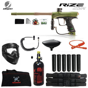 Dye Rize CZR Corporal HPA Paintball Gun Package