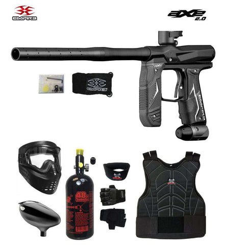 Empire Axe 2.0 Beginner Protective HPA Paintball Gun Package