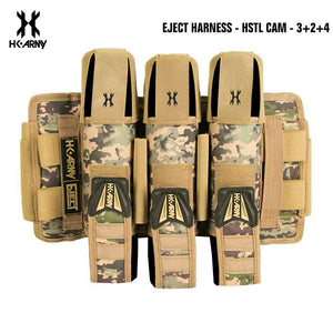 HK Army 3+2 | 4+3 | 5+4 Eject Paintball Harness Pod Pack - HSTL Cam