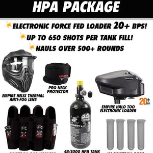Empire Axe 2.0 Tournament Elite Paintball Gun Package B