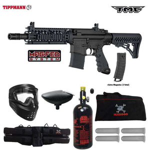 Tippmann TMC MAGFED Beginner HPA Paintball Gun Package B