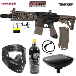 Maddog Tippmann TMC MAGFED Bronze Paintball Gun Starter Package