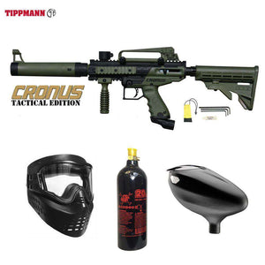 Tippmann Cronus Tactical Beginner CO2 Paintball Gun Package