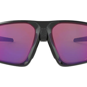 Oakley Men's Field Jacket Sunglasses - Polished Black with Prizm Road Lenses