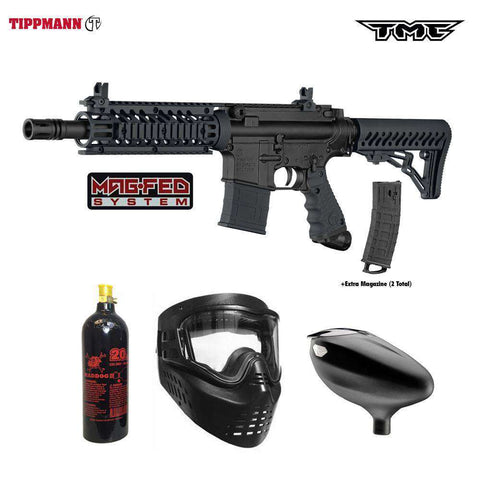 Tippmann TMC MAGFED Beginner CO2 Paintball Gun Package A