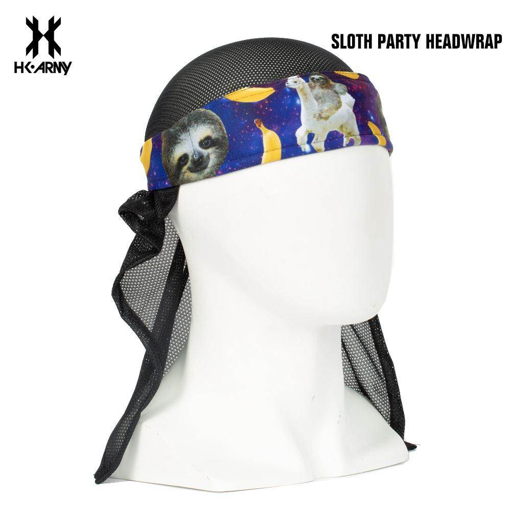 HK Army Paintball Headwrap -  Sloth Party