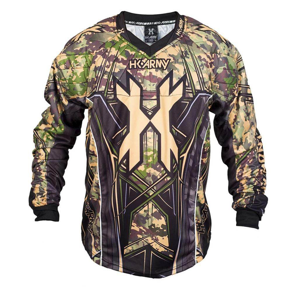 HK Army HSTL Line Padded Paintball Jersey - Camo