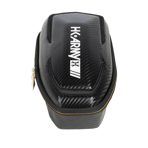 HK Army Exo Paintball Loader Case - Black Carbon Fiber - PaintballDeals.com