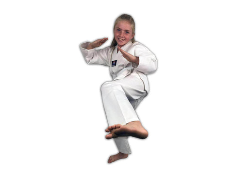 Zephyr Tae Kwon Do Gi Student Uniform with Belt - White