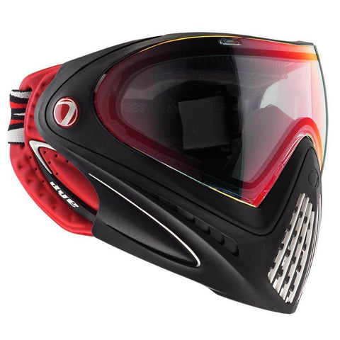 Dye I4 Thermal Paintball Goggles - Dirty Bird Red / Black